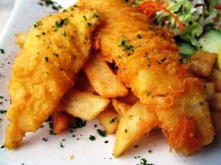 wedding fish and chips